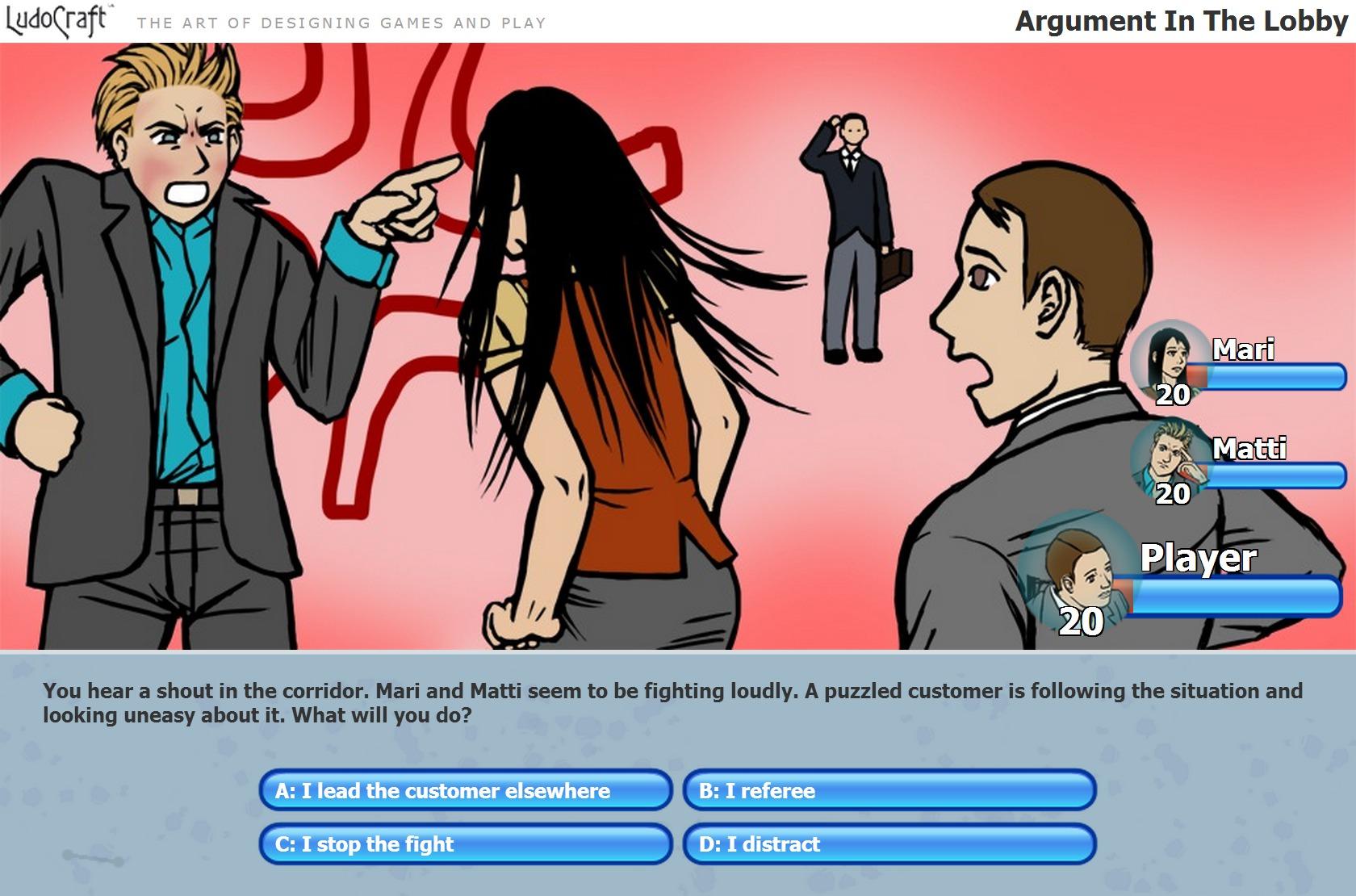 Incident Game screenshot